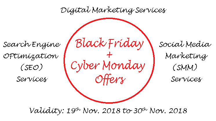 Black Friday & Cyber Monday Offer 2018 - 99Plus IT Solutions Pvt. Ltd.
